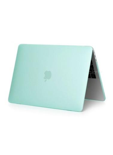 """Mcstorey Yeni MacBook Pro Type-c A1707 A1990 15.4"""" Kılıf Kapak Hard case Mat Yeşil"""